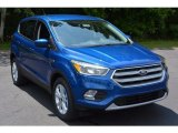 2017 Lightning Blue Ford Escape SE #114079114