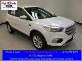2017 White Platinum Ford Escape SE #114078847