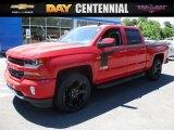 2016 Red Hot Chevrolet Silverado 1500 LT Crew Cab 4x4 #114078889