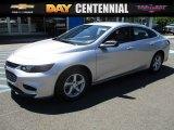 2016 Silver Ice Metallic Chevrolet Malibu LS #114078891