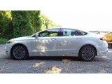 2017 White Platinum Ford Fusion SE #114079021