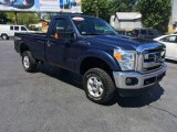 2014 Blue Jeans Metallic Ford F250 Super Duty XL Regular Cab 4x4 #114079146