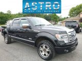 2014 Tuxedo Black Ford F150 Platinum SuperCrew 4x4 #114109893