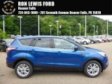 2017 Lightning Blue Ford Escape SE #114109614