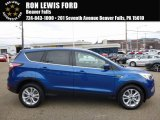 2017 Lightning Blue Ford Escape SE #114109612