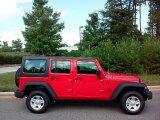 2016 Firecracker Red Jeep Wrangler Unlimited Sport 4x4 RHD #114109394
