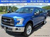2016 Blue Flame Ford F150 XLT SuperCrew 4x4 #114109383