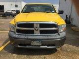 2009 Detonator Yellow Dodge Ram 1500 ST Quad Cab #114147151