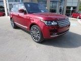 2016 Land Rover Range Rover Firenze Red Metallic