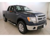 2014 Blue Jeans Ford F150 XLT SuperCab 4x4 #114176319