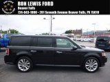 2010 Tuxedo Black Ford Flex SEL EcoBoost AWD #114176191