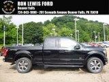 2016 Shadow Black Ford F150 XLT SuperCab 4x4 #114176188