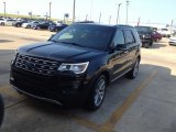 2016 Shadow Black Ford Explorer Limited 4WD #114176235