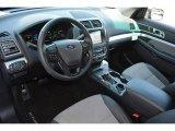 2017 Ford Explorer XLT Sport Appearance Dark Earth Gray Interior