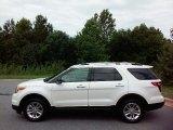 2013 Oxford White Ford Explorer XLT 4WD #114191535