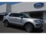 2017 Ingot Silver Ford Explorer Platinum 4WD #114191695