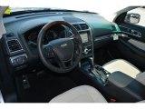2017 Ford Explorer Platinum 4WD Medium Soft Ceramic Interior