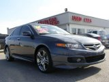 2008 Carbon Gray Pearl Acura TSX Sedan #11412780