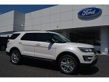 2016 White Platinum Metallic Tri-Coat Ford Explorer XLT 4WD #114191689