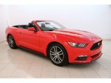 2016 Race Red Ford Mustang EcoBoost Premium Convertible #114191834