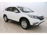 2015 White Diamond Pearl Honda CR-V EX #114191832
