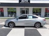 2015 Celestial Silver Metallic Toyota Camry SE #114191770