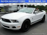 2011 Performance White Ford Mustang V6 Premium Convertible #114191516