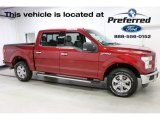 2016 Ruby Red Ford F150 XLT SuperCrew 4x4 #114191512