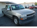 2000 Light Pewter Metallic Chevrolet Silverado 1500 LS Extended Cab #11417514