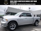 2012 Bright Silver Metallic Dodge Ram 1500 Big Horn Crew Cab 4x4 #114216663