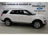 2016 Oxford White Ford Explorer XLT 4WD #114216375