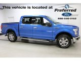 2016 Blue Flame Ford F150 XLT SuperCrew 4x4 #114216357