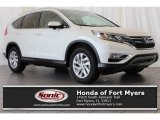 2016 White Diamond Pearl Honda CR-V EX-L #114216442