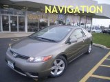 2006 Galaxy Gray Metallic Honda Civic EX Coupe #1141342