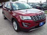2016 Ruby Red Metallic Tri-Coat Ford Explorer XLT #114243297