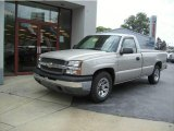 2005 Silver Birch Metallic Chevrolet Silverado 1500 Regular Cab #11418179
