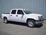 2005 Summit White Chevrolet Silverado 1500 Z71 Crew Cab 4x4 #11407803