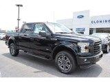 2016 Shadow Black Ford F150 XLT SuperCrew 4x4 #114243461