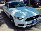 2016 Oxford White Ford Mustang EcoBoost Coupe #114243289