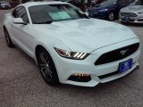 2016 Oxford White Ford Mustang EcoBoost Coupe #114243278