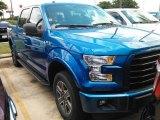 2016 Blue Flame Ford F150 XLT SuperCrew 4x4 #114243251
