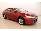 2015 Ruby Flare Pearl Toyota Camry LE #114243687