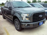 2016 Magnetic Ford F150 XLT SuperCrew 4x4 #114243243
