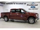 2016 Bronze Fire Ford F150 XLT SuperCrew 4x4 #114243120