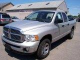 2004 Bright Silver Metallic Dodge Ram 1500 SLT Quad Cab 4x4 #11404784