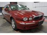 2002 Jaguar X-Type Phoenix Red