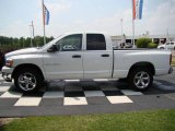 2006 Bright White Dodge Ram 1500 SLT Quad Cab #11416016