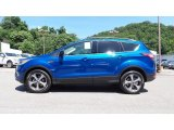 2017 Lightning Blue Ford Escape SE #114301479