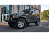 2006 Jeep Green Metallic Jeep Wrangler Sport 4x4 #114301323