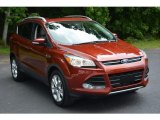 2015 Sunset Metallic Ford Escape Titanium 4WD #114301530
